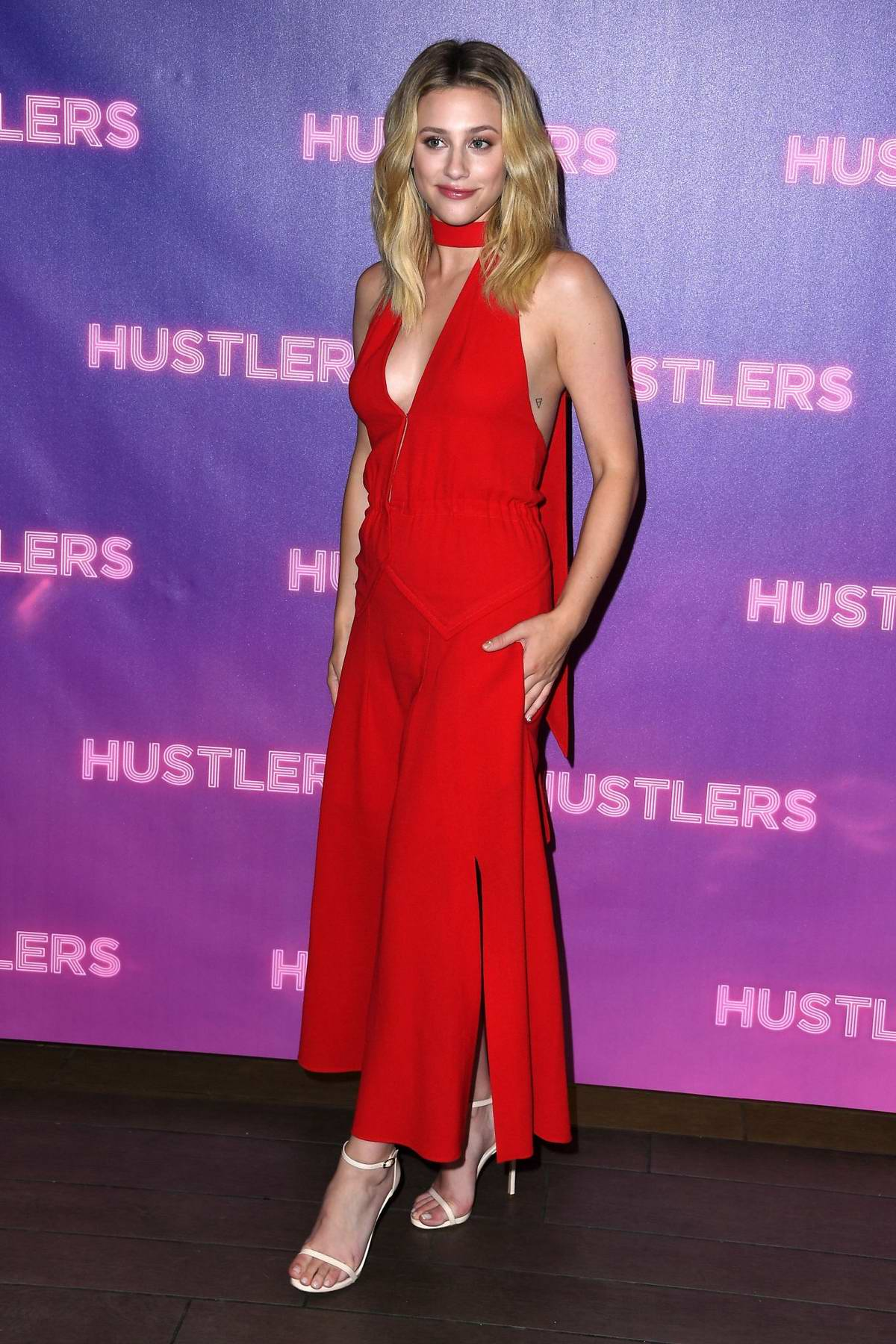 Lili Reinhart attends 'Hustlers' Photocall at Four Seasons Los Angeles in Beverly Hills, Los Angeles