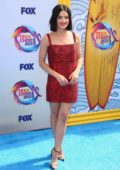 Lucy Hale attends the FOX's Teen Choice Awards 2019 in Hermosa Beach, California
