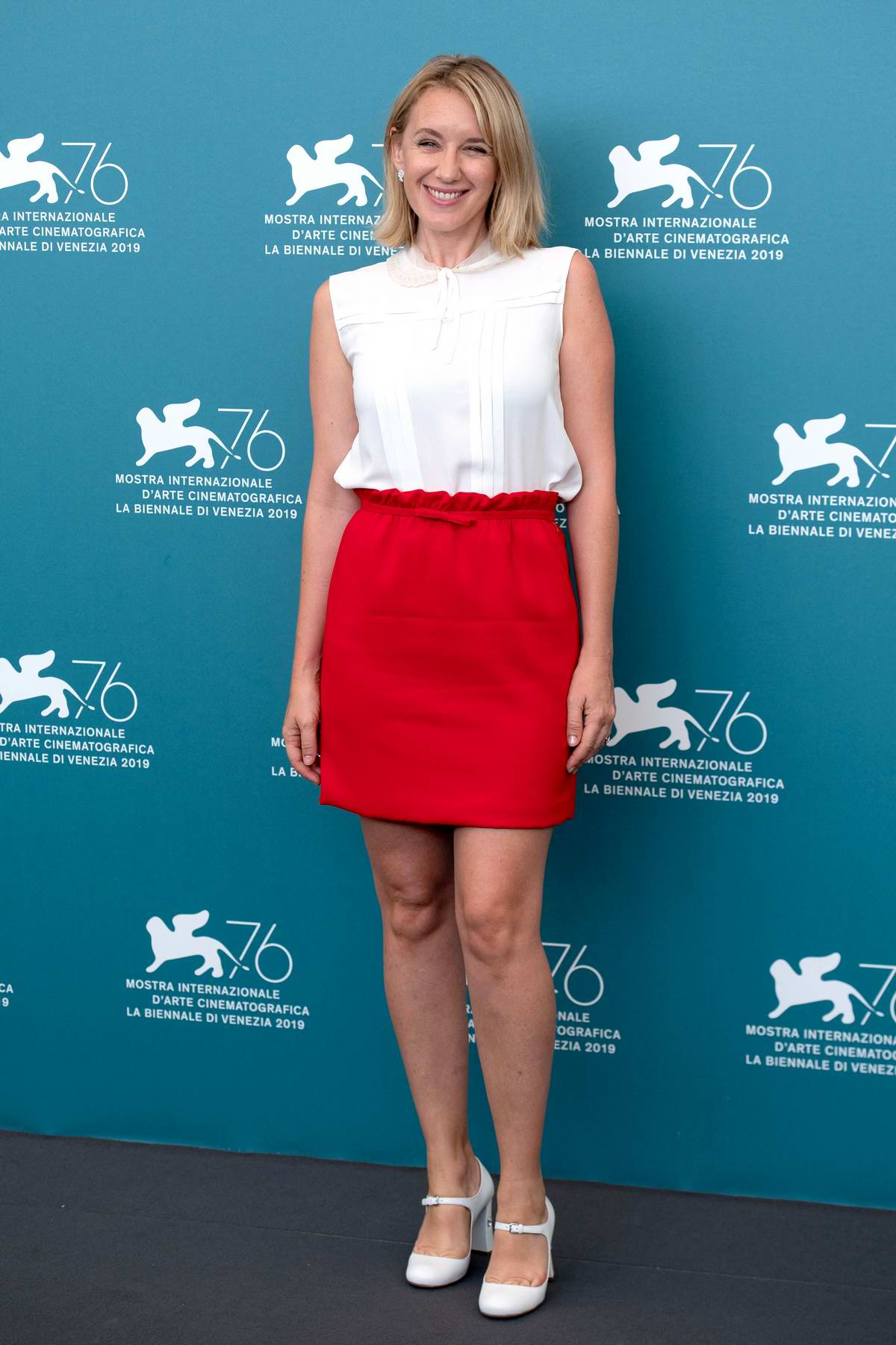 Ludivine Sagnier attends 'La Vérité' (The Truth) photocall during the 76th Venice Film Festival at Sala Grande in Venice, Italy