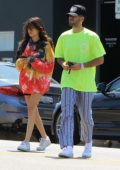 Madison Beer steps out with friends for lunch at Toast in Hollywood, California