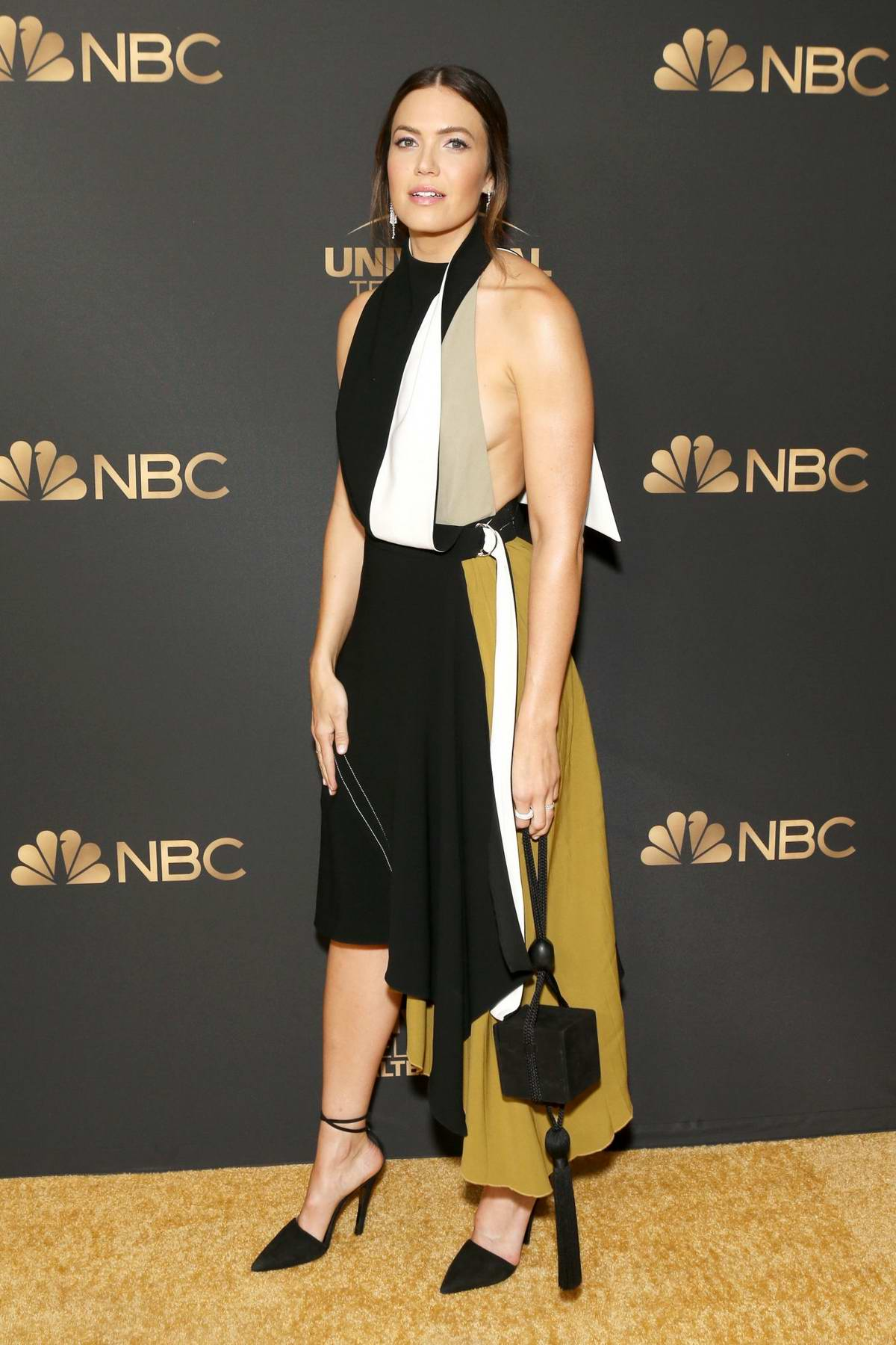 Mandy Moore attends the NBC and Universal EMMY nominee celebration at Tesse Restaurant in West Hollywood, Los Angeles