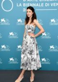 Margaret Qualley attends 'Seberg' photocall during the 76th Venice Film Festival at Sala Grande in Venice, Italy