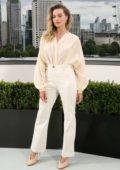Margot Robbie attends 'Once Upon A Time In Hollywood' Photocall in London, UK
