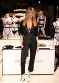 Martha Hunt attends Victoria's Secret Debut of the New Fall Collection in Houston, Texas