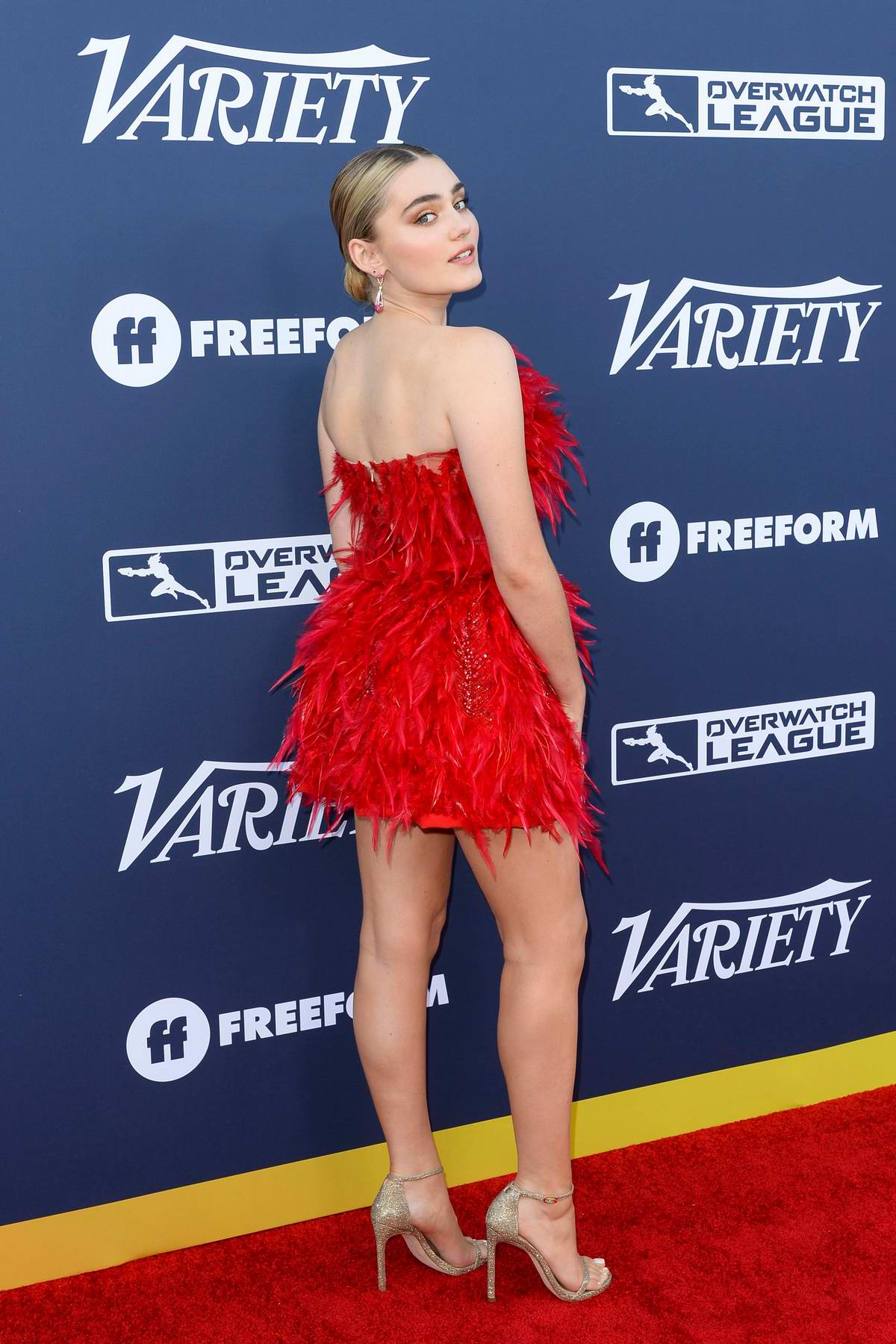 Meg Donnelly attends Variety's Power Of Young Hollywood at The H Club in Los Angeles
