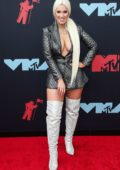Natalie Friedman attends the 2019 MTV Video Music Awards at Prudential Center in Newark, New Jersey
