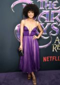Nathalie Emmanuel attends the screening of `The Dark Crystal Age of Resistance` at Museum of the Moving Image in New York City