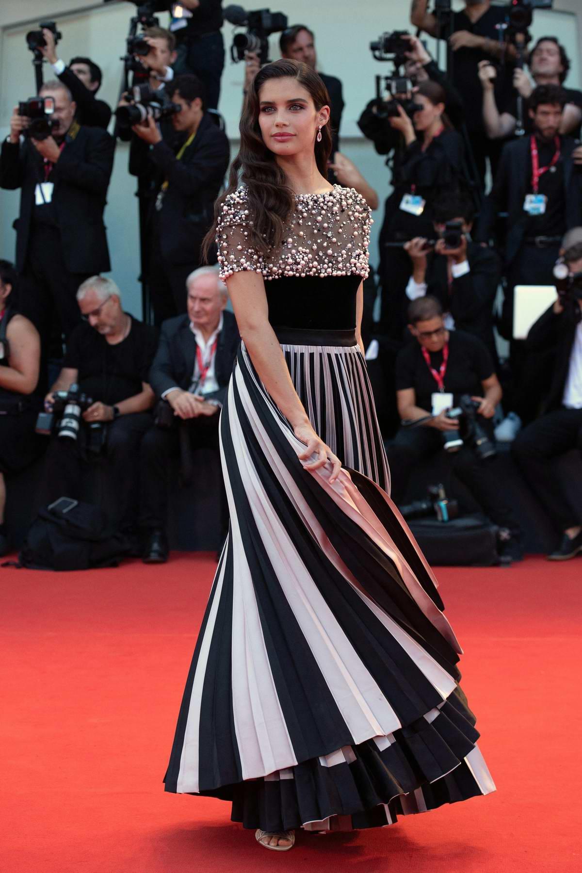 Sara Sampaio attends 'Joker' Screening during the 76th Venice Film Festival in Venice, Italy