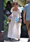 Sarah Hyland dons cute floral dress for a private event in Los Angeles