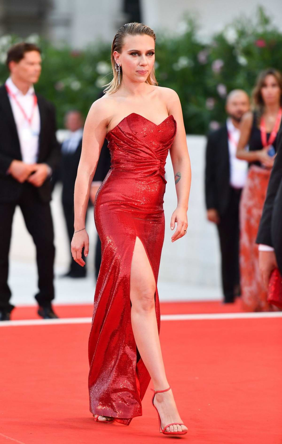Scarlett Johansson attends 'Marriage Story' Screening during the 76th Venice Film Festival in Venice, Italy
