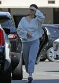 Selena Gomez dressed casually during a shopping trip to XIV Karats in Beverly Hills, Los Angeles