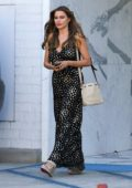 Sofia Vergara looks great in a star-studded dress as she leaves a business meeting in Los Angeles