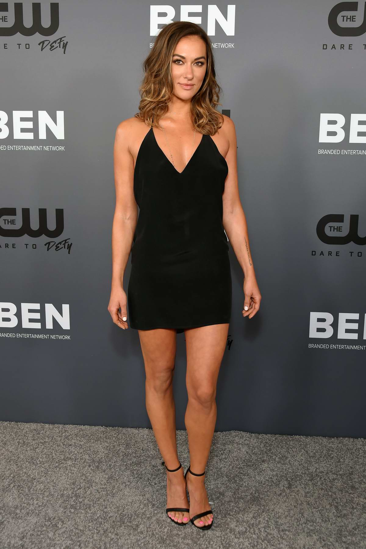 Tasya Teles attends The CW's All Star Party during 2019 TCA Summer Press Tour in Los Angeles