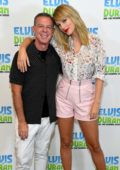 Taylor Swift visits the Elvis Duran Z100 Morning Show in New York City