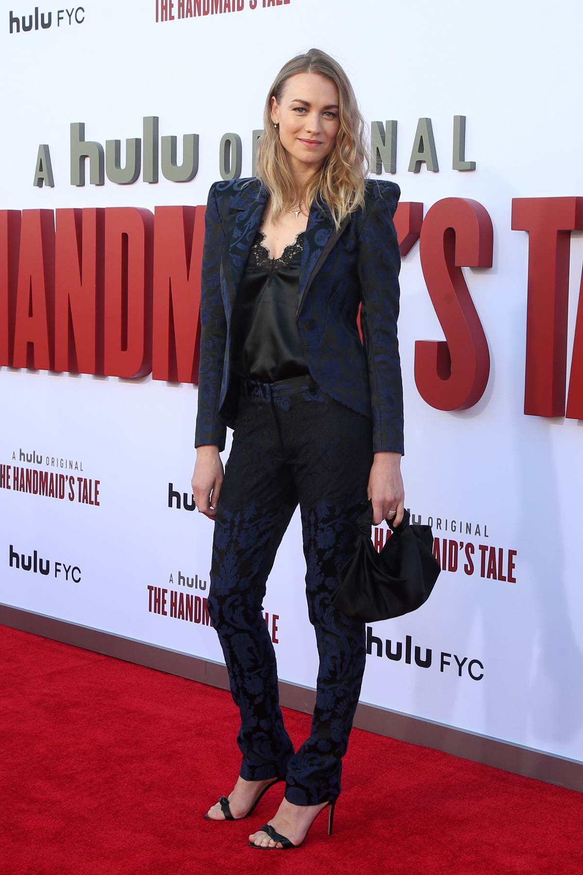 Yvonne Strahovski attends 'The Handmaid's Tale' Season 3 Finale at Regency Village Theatre in Westwood, California