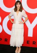 Zooey Deschanel attends the premiere of 'Good Boys' in West Hollywood, Los Angeles