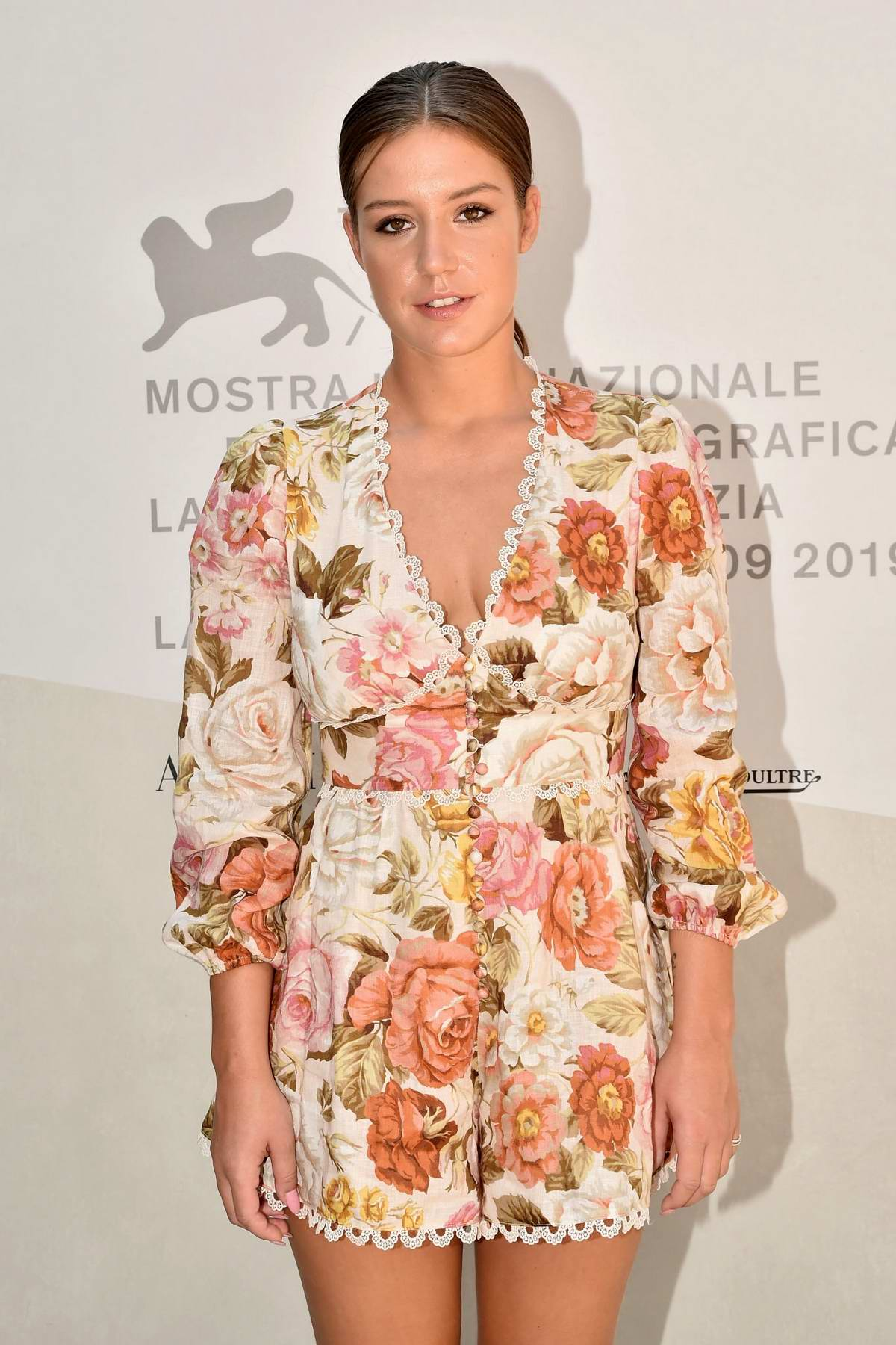 Adèle Exarchopoulos attends 'Revenir' Screening during the 76th Venice Film Festival at Sala Grande in Venice, Italy