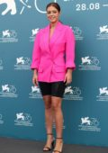 Adèle Exarchopoulos attends the photocall of 'Revenir' during the 76th Venice Film Festival in Venice, Italy