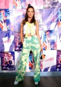 Alessandra Ambrosio poses backstage for China Day: Anta Kids during New York Fashion Week in New York City