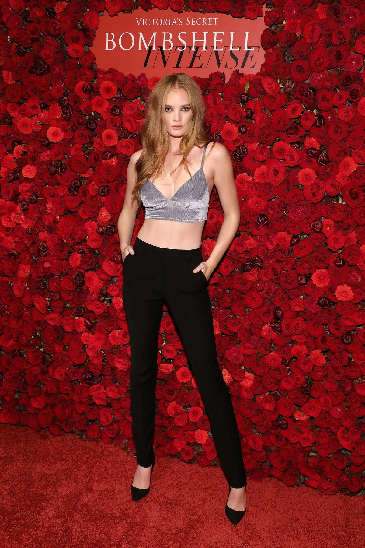 Alexina Graham attends Victoria's Secret Bombshell Intense Launch Party in New York City
