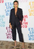Alicia Aylies attends the Etam Live show 2019 during Paris Fashion Week, Spring/Summer 2020 in Paris, France