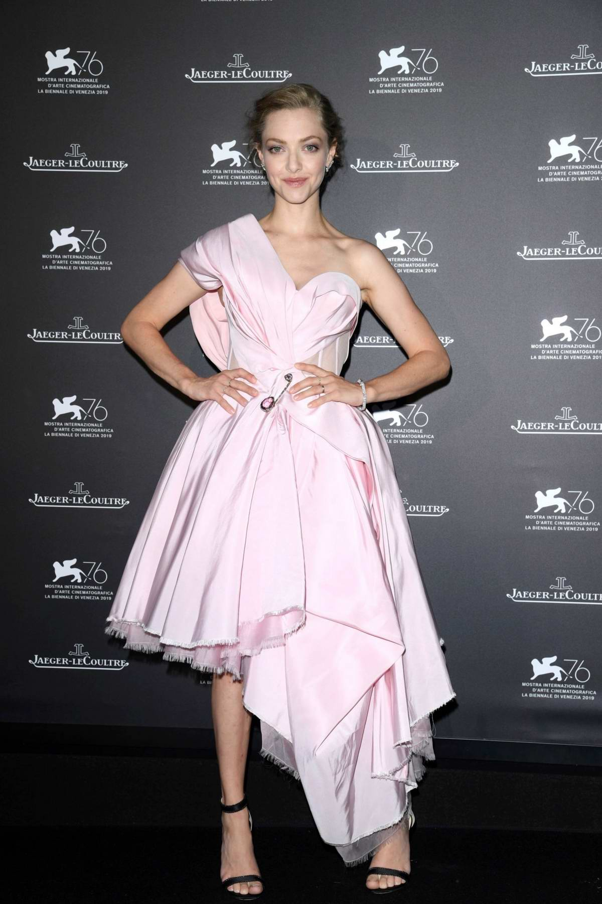 Amanda Seyfried attends the Jaeger-LeCoultre Gala Dinner during the 76th Venice Film Festival in Venice, Italy