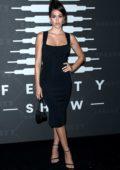 Amelia Hamlin attends Savage X Fenty Show during New York Fashion Week at Barclays Center in Brooklyn, New York City