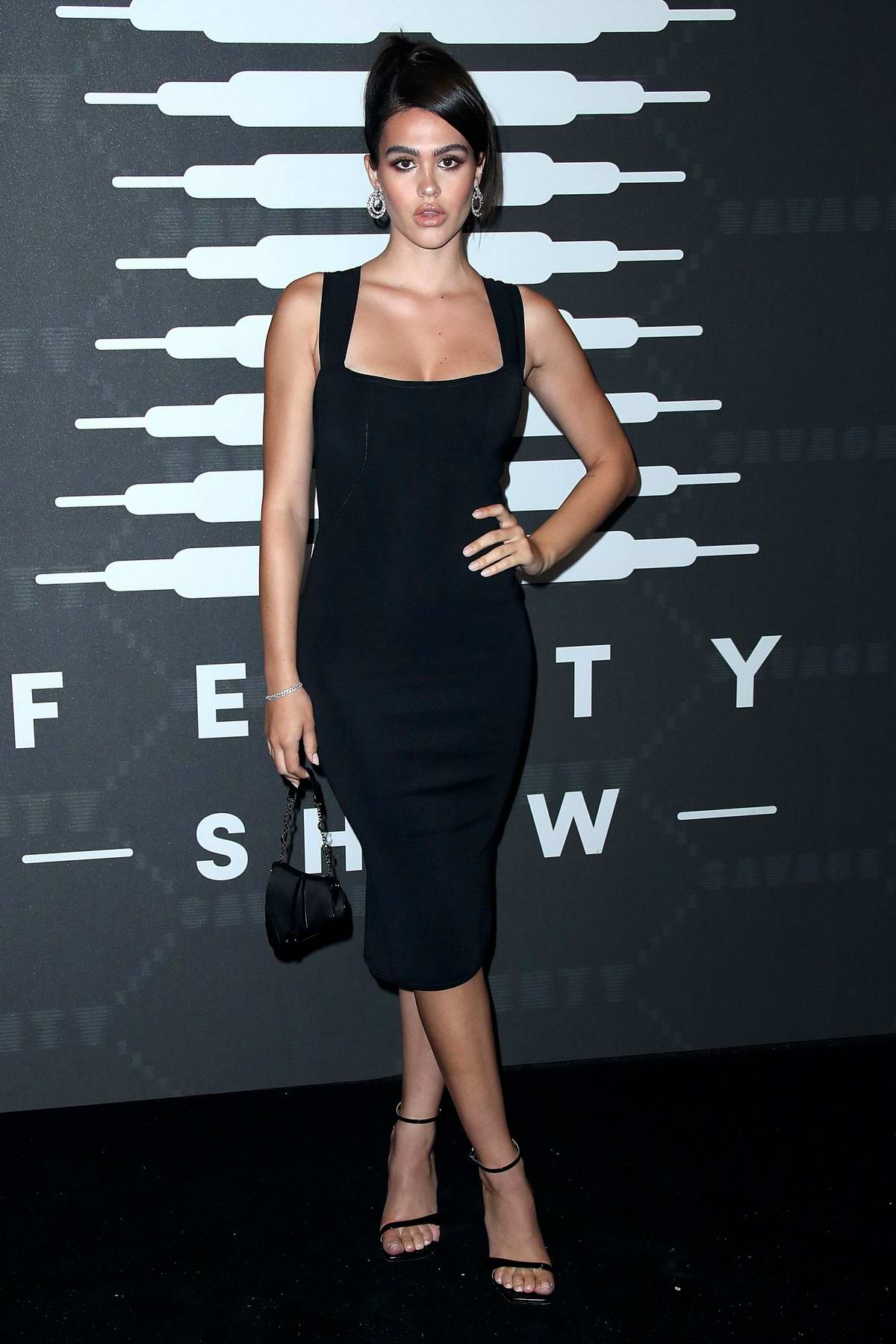 Amelia Hamlin attends Savage X Fenty Show during New York Fashion Week at Barclays Center in Brooklyn, New York City