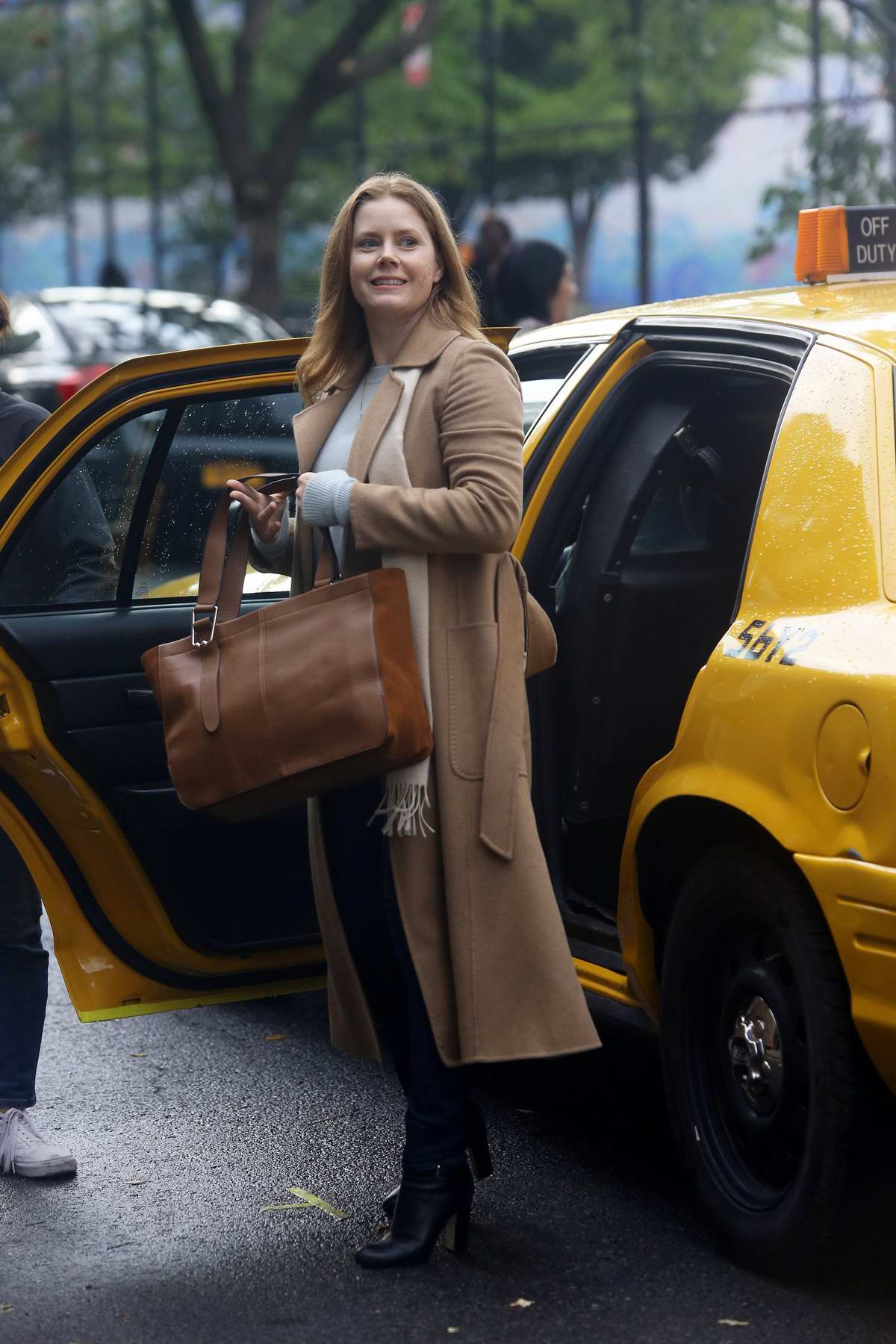 Amy Adams spotted on set of 'The Woman In The Window' while filming in Harlem, New York City