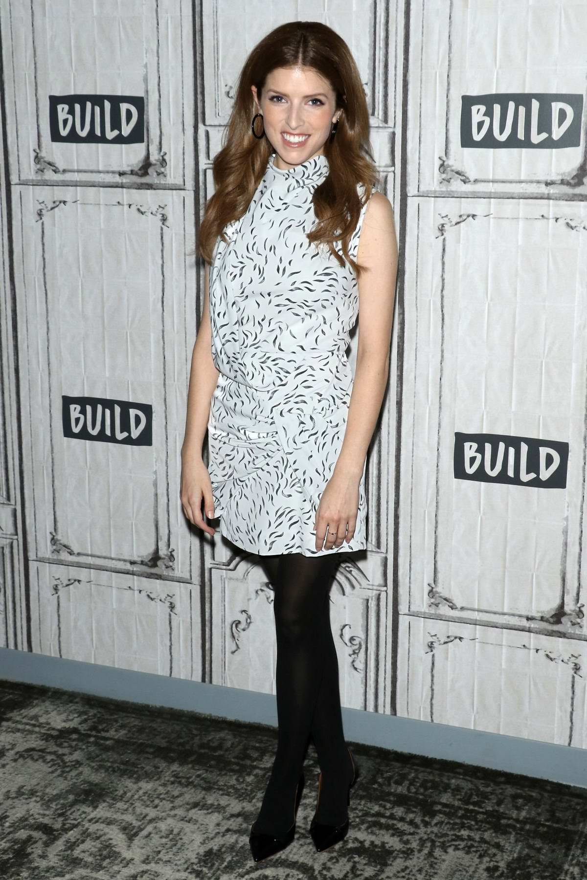 Anna Kendrick visits AOL Build Series in New York City