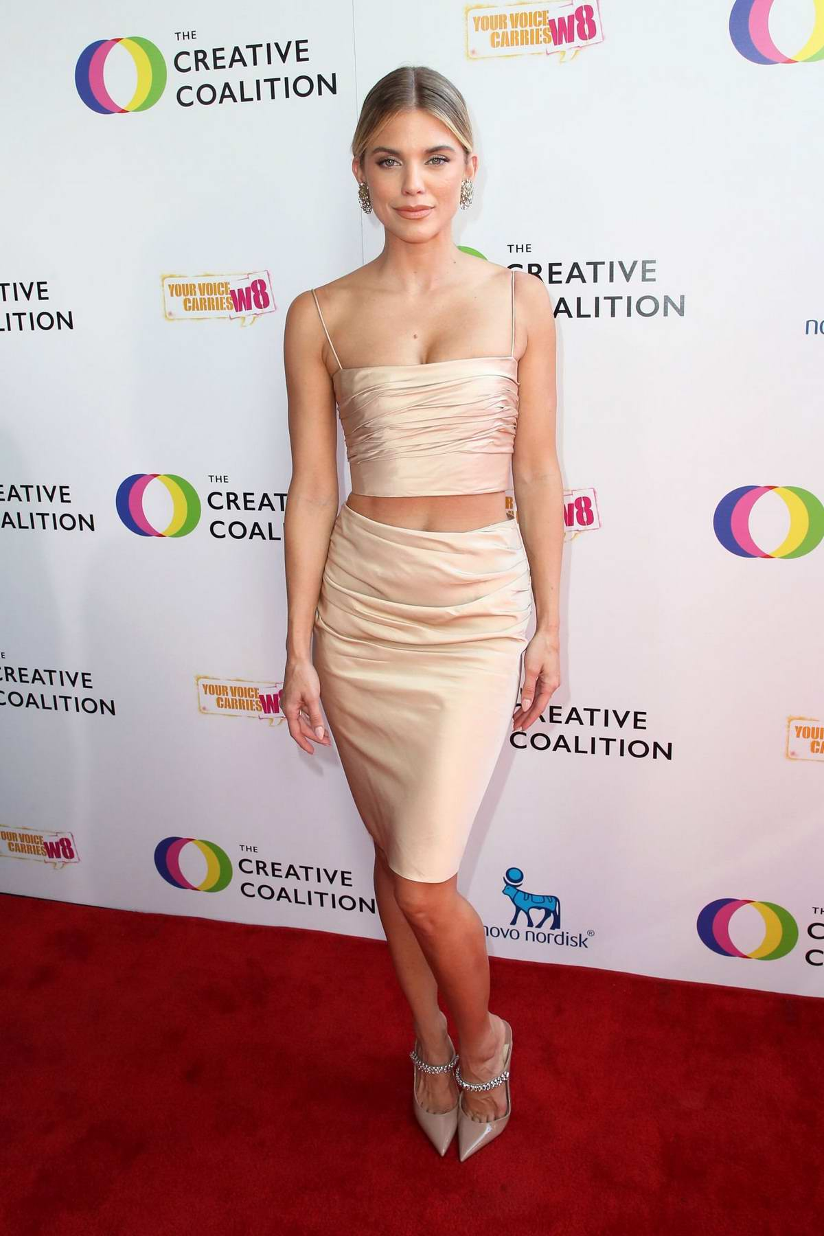 AnnaLynne McCord attends The Creative Coalition's Annual Television Humanitarian Awards Gala in Beverly Hills, Los Angeles