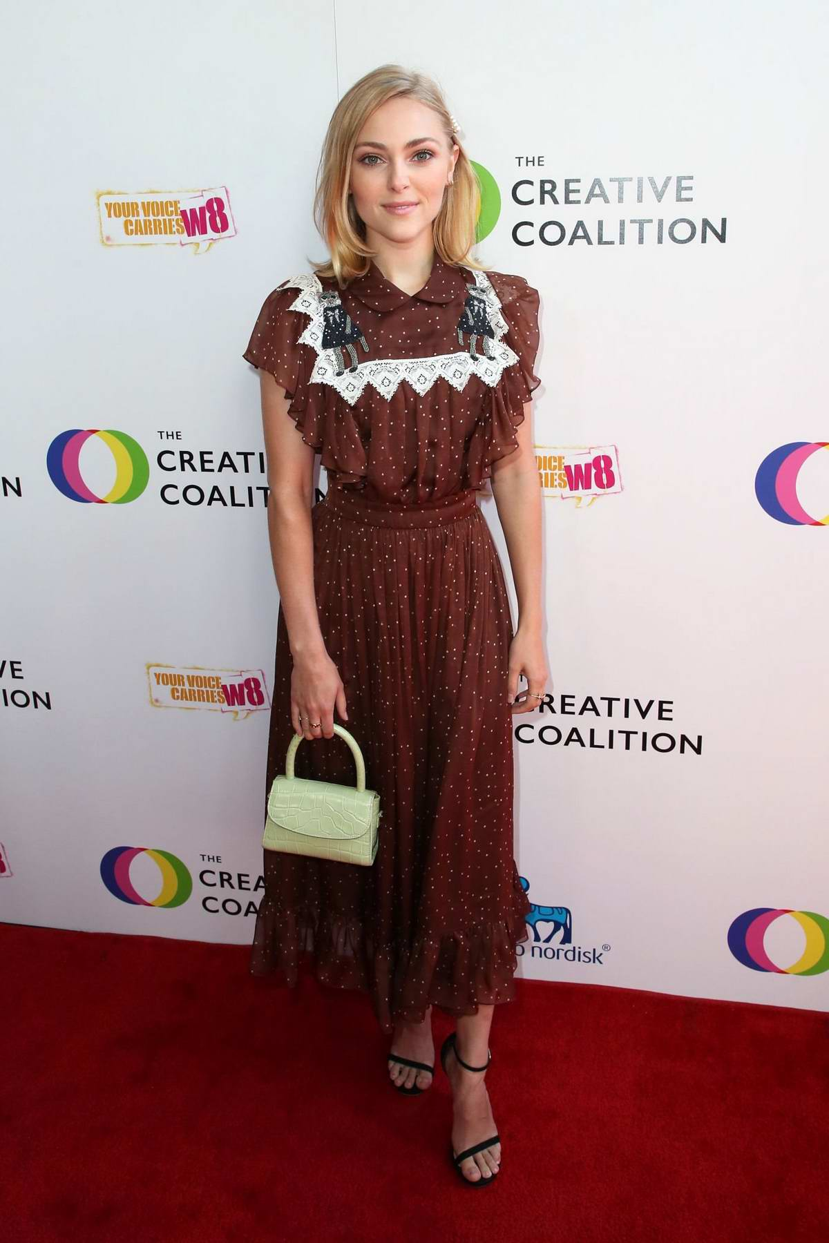 AnnaSophia Robb attends The Creative Coalition's Annual Television Humanitarian Awards Gala in Beverly Hills, Los Angeles