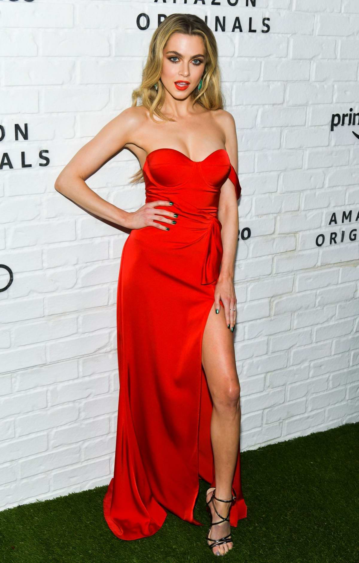 Anne Winters attends the Amazon Prime Video Emmy Awards After-Party 2019 in Los Angeles