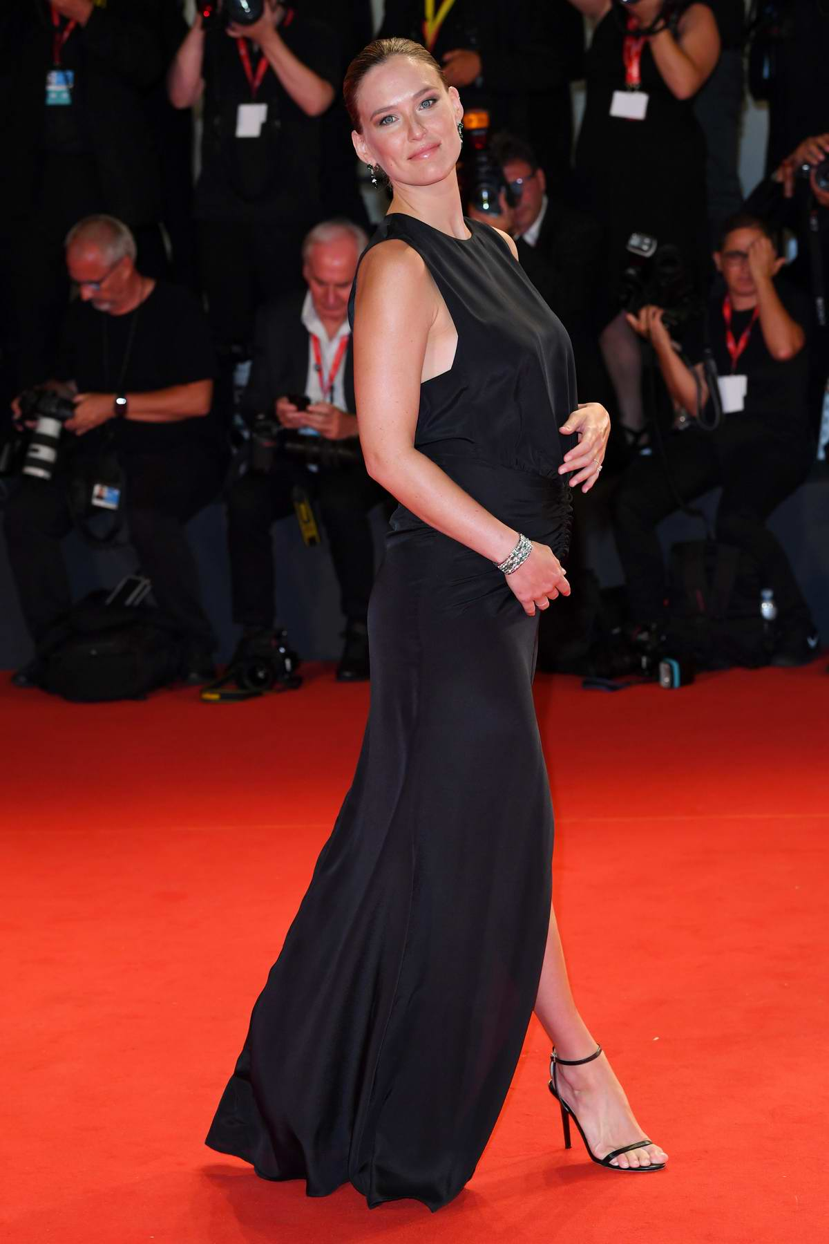 Bar Refaeli attends 'Ad Astra' screening during during the 76th Venice Film Festival at Sala Grande in Venice, Italy