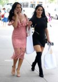 Brie and Nikki Bella attend FIT Fashion Show in New York City