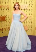 Brittany Snow attends the 71st Primetime Emmy Awards at Microsoft Theater in Los Angeles