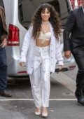 Camila Cabello is all smiles as she arrives at NRJ radio station in Paris, France