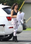Camila Cabello is all smiles as she arrives to a dance studio with her mother in Los Angeles