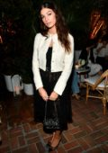 Camila Morrone attends the Chanel Dinner Celebrating 'Gabrielle Chanel Essence With Margot Robbie' at Chateau Marmont in Los Angeles