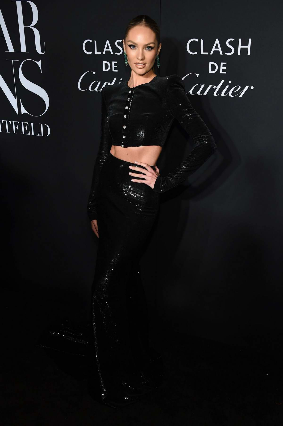 Candice Swanepoel attends the 2019 Harper's Bazaar ICONS Party at The Plaza Hotel in New York City