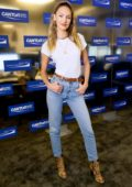 Candice Swanepoel attends the Annual Charity Day hosted by Cantor Fitzgerald in New York City