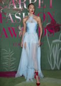 Candice Swanepoel attends The Green Carpet Fashion Awards 2019 in Milan, Italy