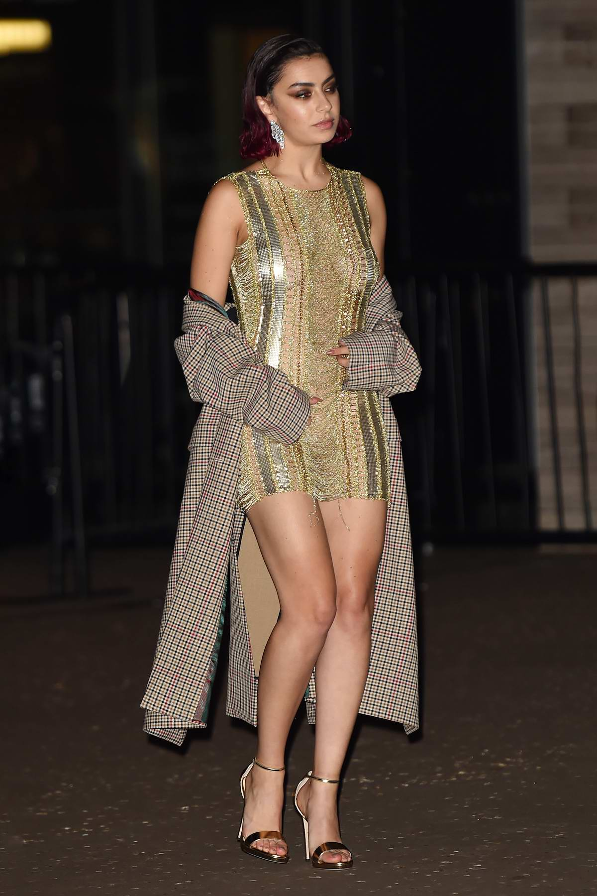 Charli XCX attends the 2019 GQ Men of the Year Awards after party at Freud's in London, UK
