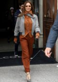 Cheryl Tweedy looks stylish as she leaves her hotel in Paris, France