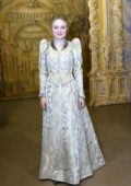 Dakota Fanning attends 'The Alienist: Angel of Darkness' Photocall in Budapest, Hungary