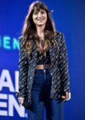 Dakota Johnson attends the 2019 Global Citizen Festival in New York City