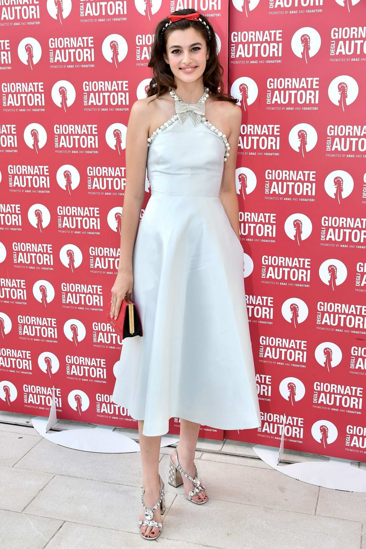 Diana Silvers attends the Miu Miu Photocall during the 76th Venice Film Festival at Sala Volpi in Venice, Italy