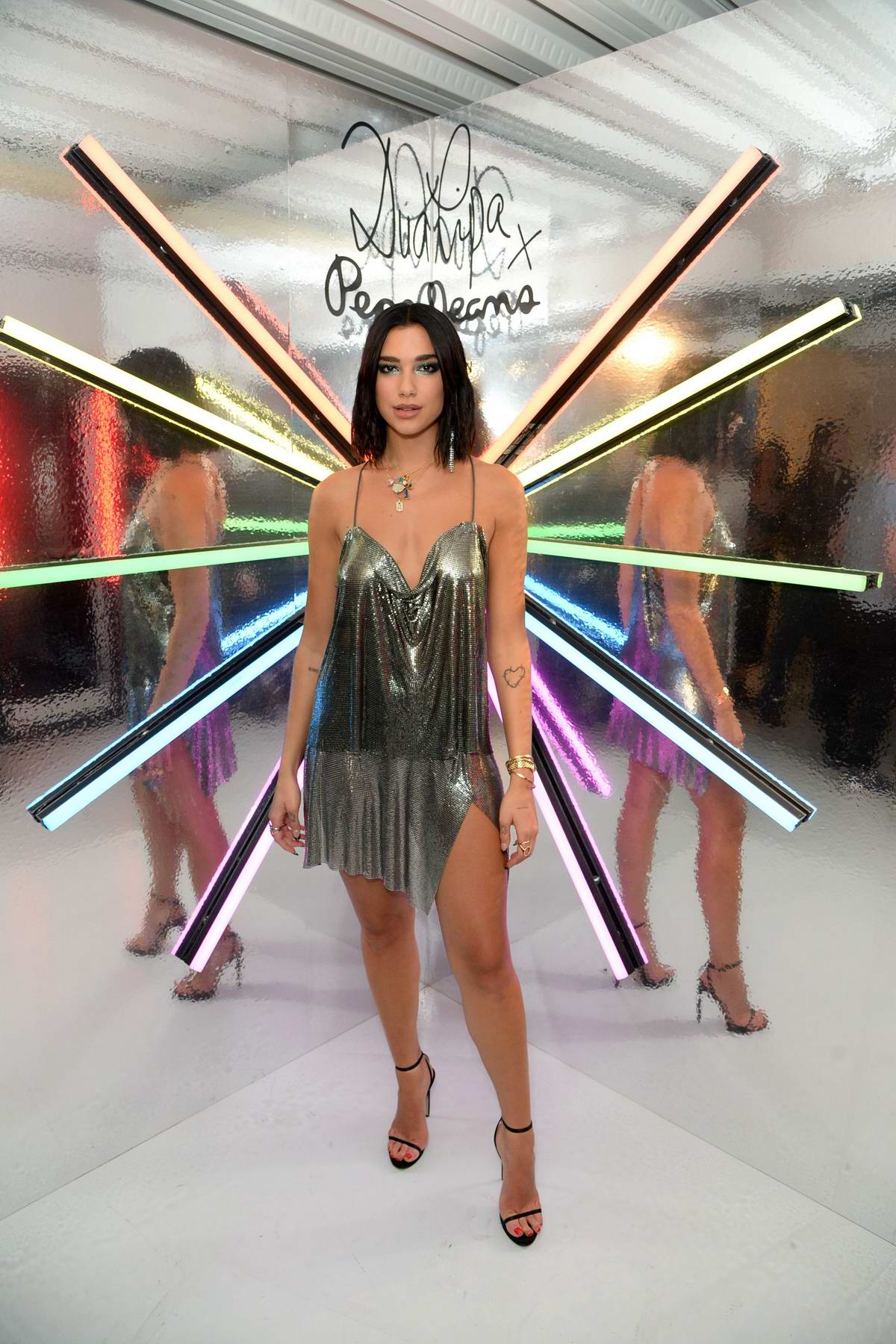 Dua Lipa attends the Dua for Pepe official collection launch in London, UK