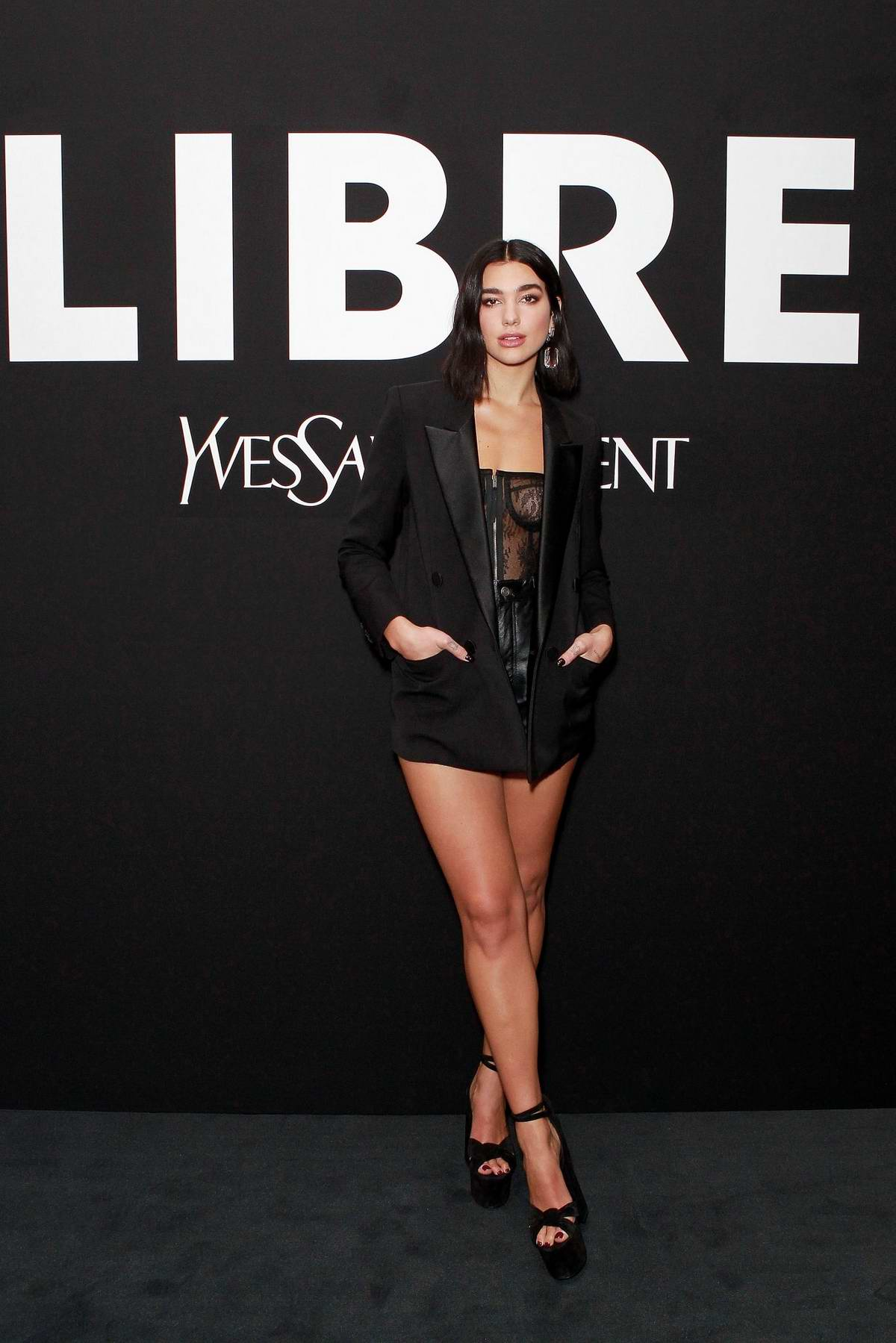 Dua Lipa attends YSL New Fragrance 2019 launch party in London, UK
