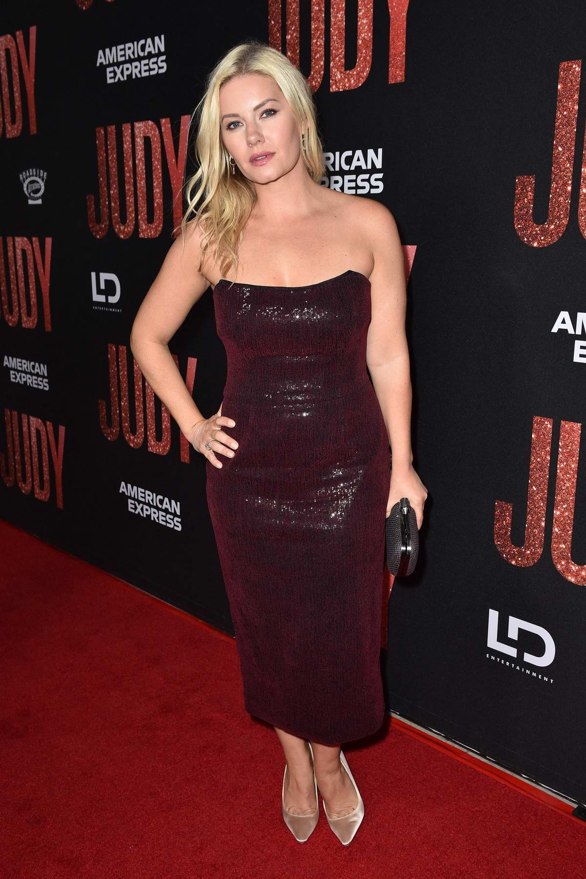 Elisha Cuthbert attends the premiere of 'Judy' in Los Angeles